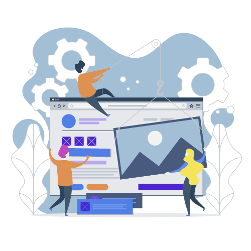 Landing page / One page